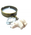 Bague Ours Blanc