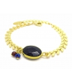 Bracelet Epi Bleu Nuit