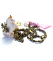 White Unicorn long necklace