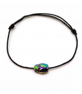 Bracelet Grigri Scarabée - Les Bijoux Acidules