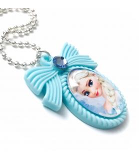 Collier La Reine des Neiges Elsa - Collier fantaisie Disney - Les