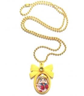 Collier Sailor Moon Jaune - Collier fantaisie - Les Bijoux Acidules