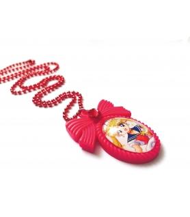 Collier Sailor Moon rouge - Collier fantaisie - Les Bijoux Acidules