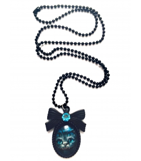 Collier Cheshire - Bijoux Alice in Wonderland - Les Bijoux Acidules