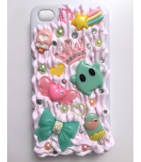 Green Star Iphone 4/4s decoden case