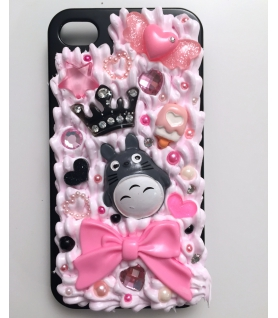 Coque Iphone 4/4s Totoro - Coque kawaii decoden - Les Bijoux Acidules