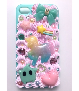 Coque Iphone 4/4s Licorne - Les Bijoux Acidules