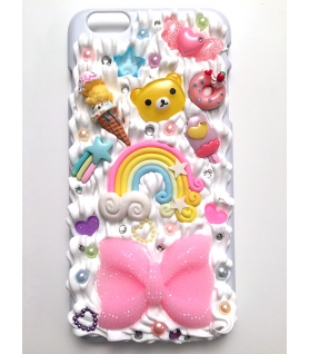 Coque Iphone 6 Plus Rainbow - Les Bijoux Acidules