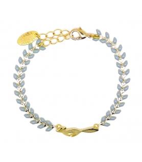 Bracelet Renard Bleu gris - Les Bijoux Acidules
