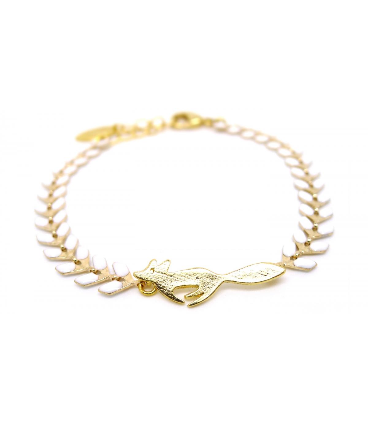 Nouveaux produits 090c7 0d9c9 Bracelet Renard Neige