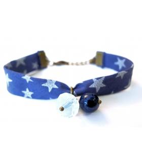 Bracelet Etoilé Denim - Les Bijoux Acidules