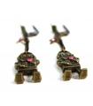 Boucles d'oreilles Robot - Les Bijoux Acidules