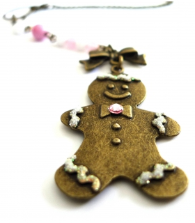 Collier Gingerbread - Les Bijoux Acidules