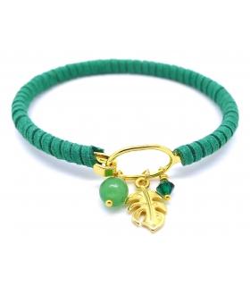 Bracelet jonc Jungle - Bijoux créateur gourmands
