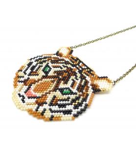 Tiger Miyuki necklace