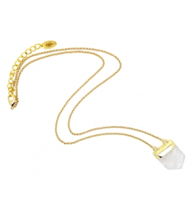 Quartz pendant - Boho Jewels