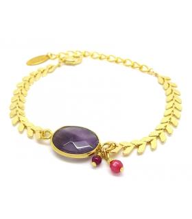 Amethyst Epina bracelet