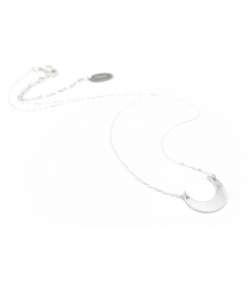 Sterling Silver Moon Crescent necklace