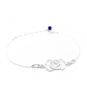 Bracelet Chakra du 3e Oeil en Argent 925 - Les Bijoux Acidules