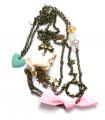 Sautoir Licorne Blanche - Les Bijoux Acidules
