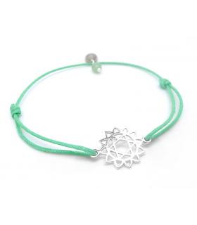 Bracelet Chakra du Coeur - Bijoux yoga et méditation - Les Bijoux Acidules