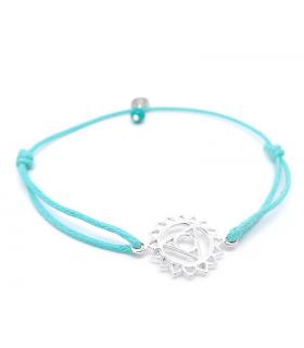 Bracelet Chakra de la gorge - Bijoux yoga et méditation - Les Bijoux Acidules
