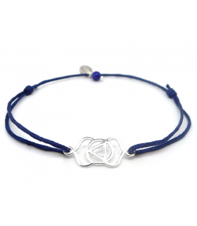 Bracelet Chakra du 3e Oeil - Bijoux yoga et méditation - Les Bijoux Acidules