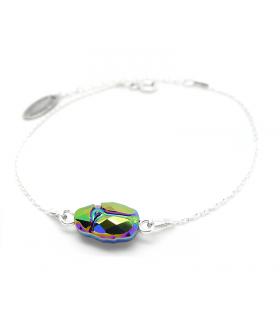Bracelet Grigri Scarabée argent 925