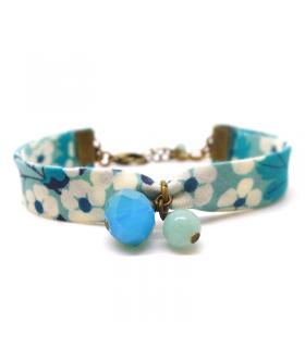 Bracelet Liberty Lagon Bleu - Les Bijoux Acidules