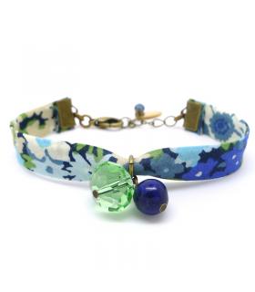 Bracelet Liberty Nympheas - Bijoux fantaisie tendance   - Les Bijoux Acidules