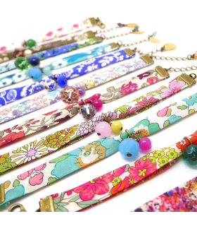 Bracelet Liberty Kaki - Bijoux fantaisie tendance  - Les Bijoux Acidules