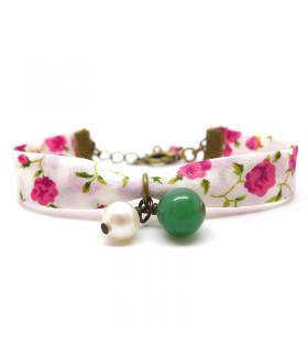 Bracelet Liberty Bouquet de Roses - Bijoux fantaisie tendance - Les Bijoux Acidules