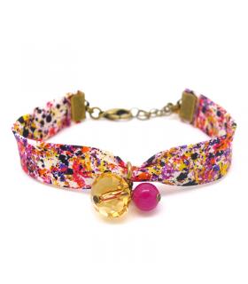 Bracelet Liberty Graffiti - Bijoux fantaisie tendance - Les Bijoux Acidules