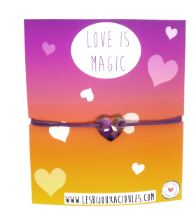 copy of Paradise Love is Magic bracelet