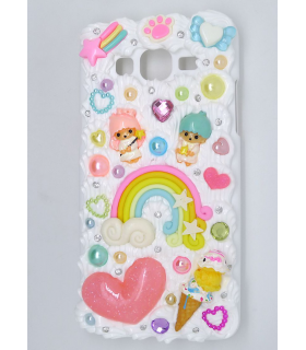 Coque Galaxy Grand Prime Little Twin Stars - Coque kawaii decoden - Les