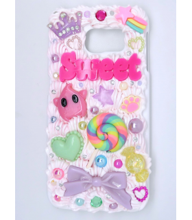 Coque Galaxy S6 edge Sweet - Coque kawaii decoden - Les Bijoux Acidules