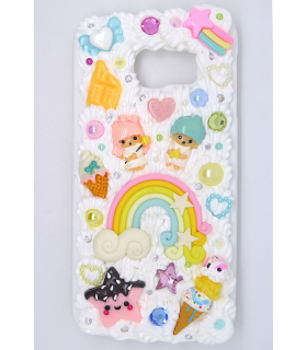 Coque Galaxy S6 edge Little Twin Stars - Coque kawaii decoden - Les Bijoux