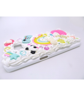 Coque Galaxy S6 edge Panda - Coque kawaii decoden - Les Bijoux Acidules