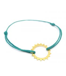 Bracelet Soleil Bleu en vermeil - Bijoux Bohème - Les Bijoux Acidules