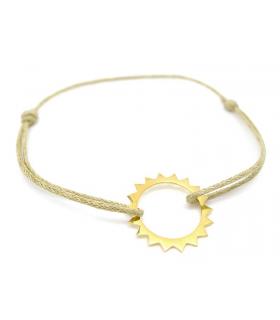 Bracelet Soleil en vermeil - Bijoux Bohème - Les Bijoux Acidules