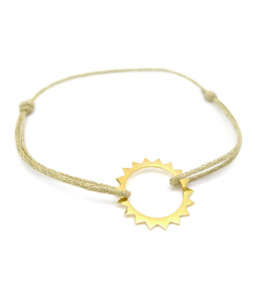 copy of Vermeil Blue Sun bracelet
